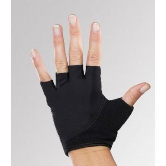 Grip handschoenen zwart Toesox S