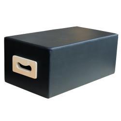 Sitting Box van Align-Pilates voor een pilates reformer