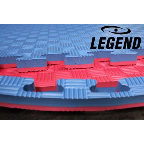 Vechtsport puzzelmat 100x100x4cm 4 kleuren