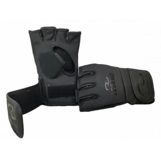 Legend Flow MMA handschoenen of Bokszak handschoenen mat zwart