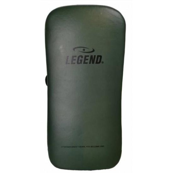 Legend Sports Lederen Thai Pad Pro Line zwart of Army