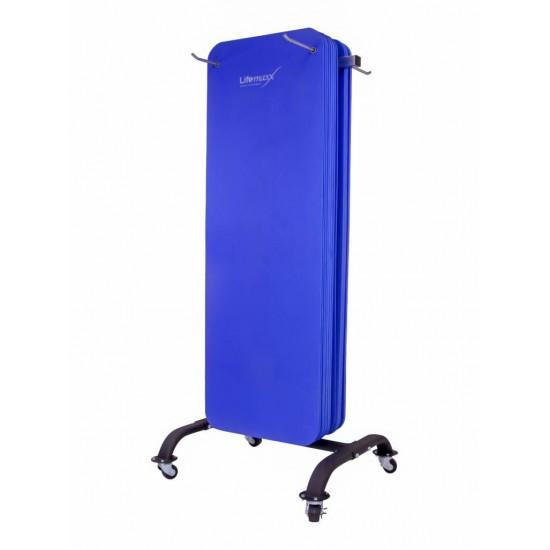 Aerobic mat rack 30 stuks 180cm