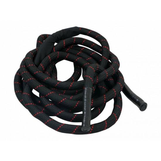 Battle rope nylon with sleeve 12 m 3,7 cm