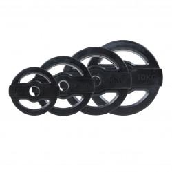 BodyPump Discs Zwart (1,25 - 10kg)