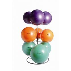 Gymball rack black 9 ballen