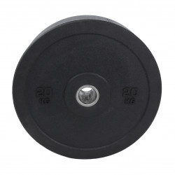 LMX97 Hi-Temp bumper plate (EU) 50mm - black (20kg)