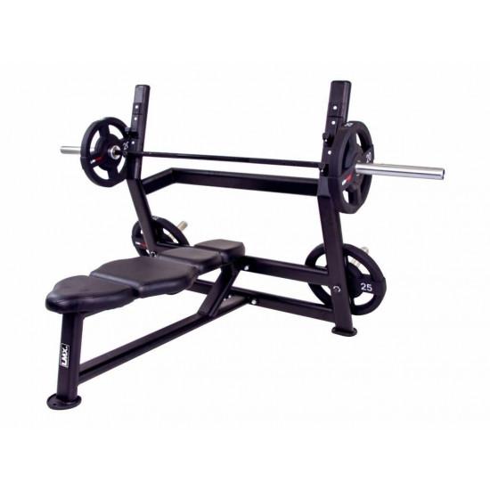 Olympic press bench - 2 bar posities