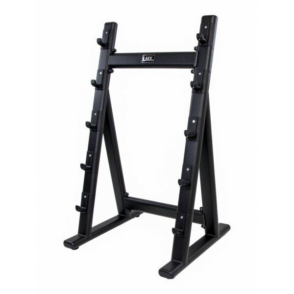 Barbell rack for 5 pcs (black) LMX1066