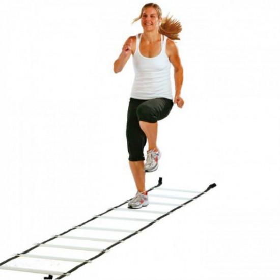 Plastic flat rung ladder