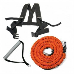 Variabele resistance trainer met Slastix clip en harnas