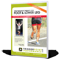 De DVD Performance Therapy for Foot & Lower Leg