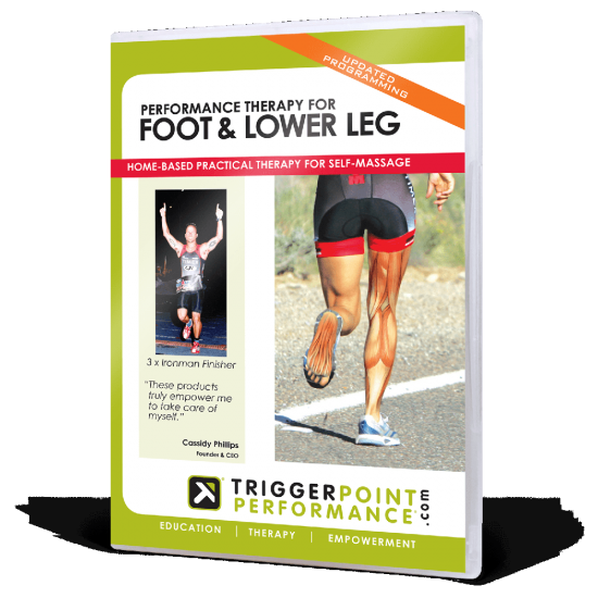 De DVD Performance Therapy for Foot - Lower Leg