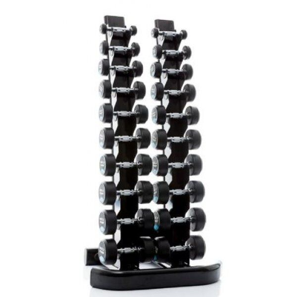 Aanbieding: Dumbbellset 1-10 kg + Rack
