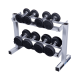 Body Solid Dumbbell Rack PDR282X  2 laags