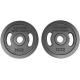Hammer - Olympische Halterschijven - Gietijzer - per Paar 2x 1,25 kg