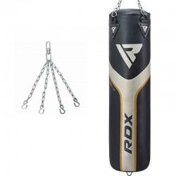 RDX Sports T17 Aura Bokszak - Zwart-goud