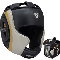RDX Sports T17 Aura Hoofdbeschermer Zwart-goud