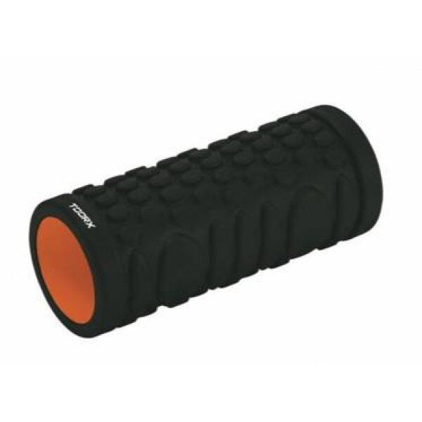 Grid Foam Roller 33 cm x 14 cm Toorx Zwart-Oranje