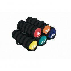 Toorx Powerbag 5 kg met 6 hendels - rood - zwart