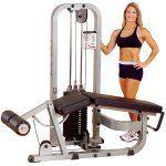Pro Clubline Leg Curl Machine SLC400G140 kg gewichtenstapel