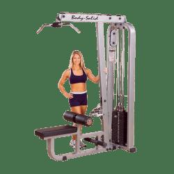 Pro Clubline Lat Mid Row Machine SLM300G140 kg Gewichtstapel