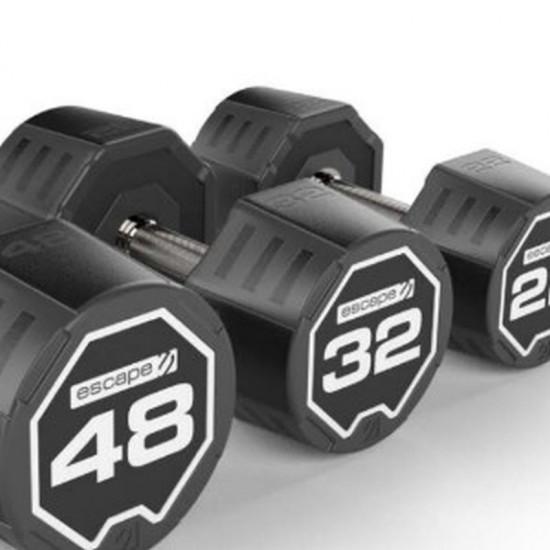 Escape Nucleus Urethane Dumbbells 1-50kg