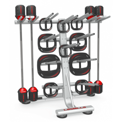 Les Mills Smartbar rack voor 12 sets
