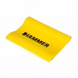 Hammer Fitnessband Elastiek - Geel - Weerstand: Licht
