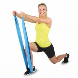 Hammer Fitnessband Elastiek - Blauw - Weerstand: Zwaar