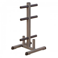 Body Solid Olympic Plate Tree Bar Holder