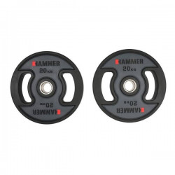 Hammer - PU - Olympische Halterschijven - per Paar2x 20 kg