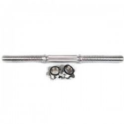 Hammer Dumbbell Stang XL 48 cm met sluitringen