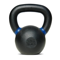 Bodytrading - Powder Coated - Kettlebell - per stuk12 KG - blauw