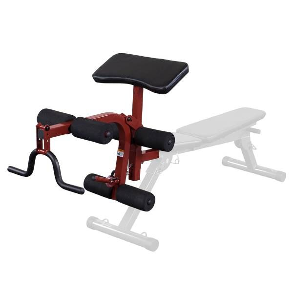 Best Fitness optie leg curl & preacher curl BFPL10 voor BFFID10