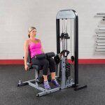 Body-Solid LEG EXTENSION LEG CURL met 95 kg gewichtstapel