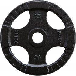 Body-Solid Olympische gietijzeren halterschijven 50 mm OPTK15 KG