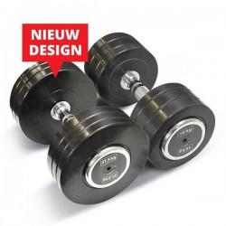 Bodytrading Rubber Dumbbell Pro Style PRORD - Verkocht per paar4 KG