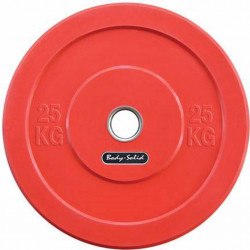 Body-Solid Olympische Bumper Plates25 kg - Rood