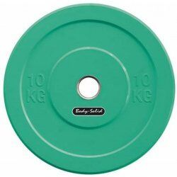 Body-Solid Olympische Bumper Plates10 kg - Groen