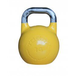 Toorx KCA Competition kettlebell14 kg Lichtgeel