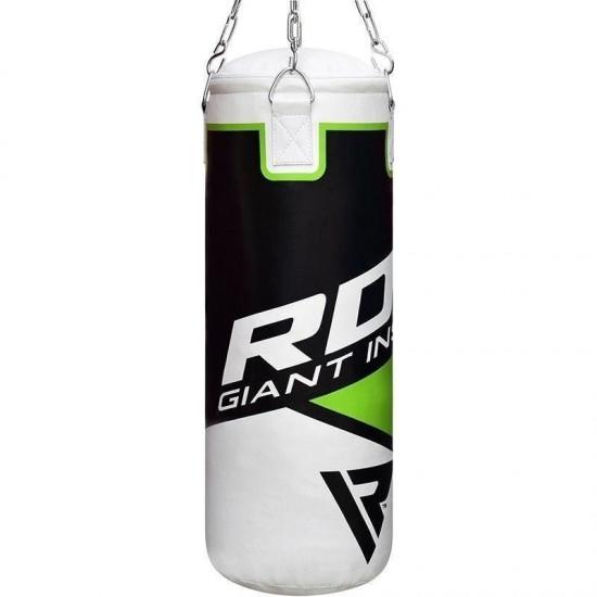 RDX 2ft bokszak voor kinderenWit - Groen
