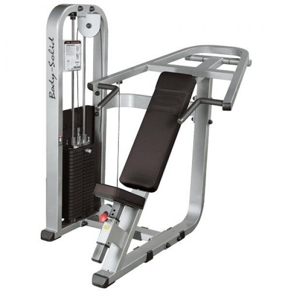 Pro Clubline Incline Press Machine SIP1400G95 kg gewichtenstapel