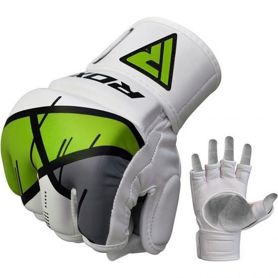 RDX Grappling Gloves REX T7Groen L