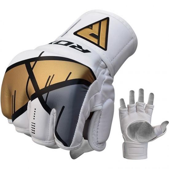 RDX Grappling Gloves REX T7Goud L