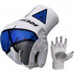 RDX Grappling Gloves REX T7Blauw L