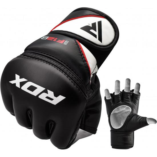 RDX Grappling Gloves Model GGRF-12Zwart XL