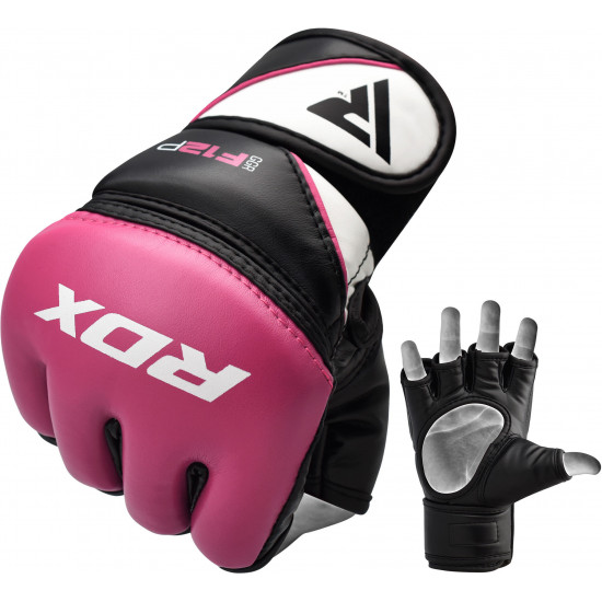 RDX Grappling Gloves Model GGRF-12Roze L