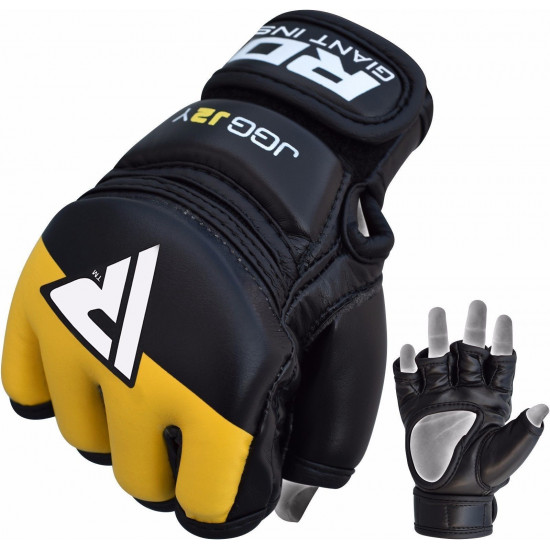 RDX Grappling Gloves KidsZwart/Paars