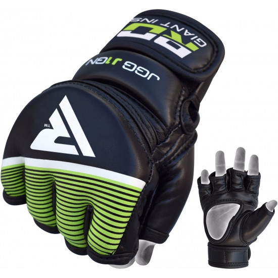 RDX Grappling Gloves KidsZwart/Groen