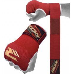 RDX Hosiery Inner Strap - Binnenhandschoenen met polsbandRood - Maat: XL
